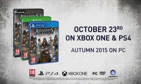 Представлен Assassin's Creed Syndicate